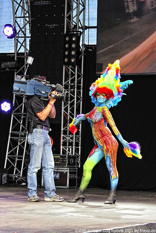 World Bodypainting Festival 2011 in Pörtschach am Wörthersee