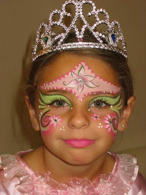 Kinderschminken - Prinzessin