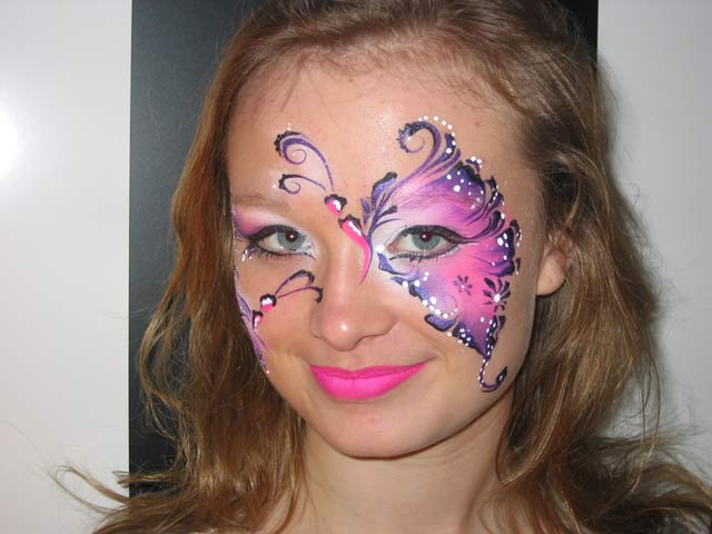Kinderschminken - Schmetterling