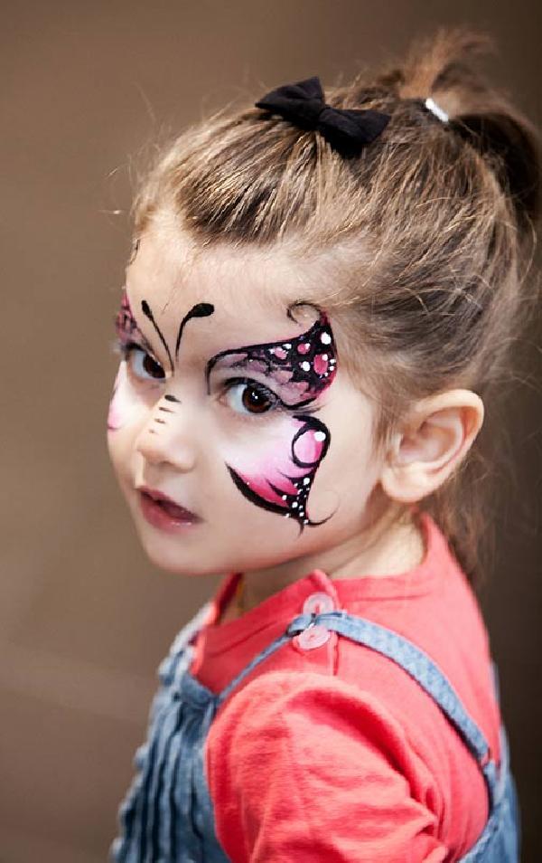 26 Kinderschminken - Schmetterling