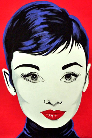 006 Malerei Hepburn