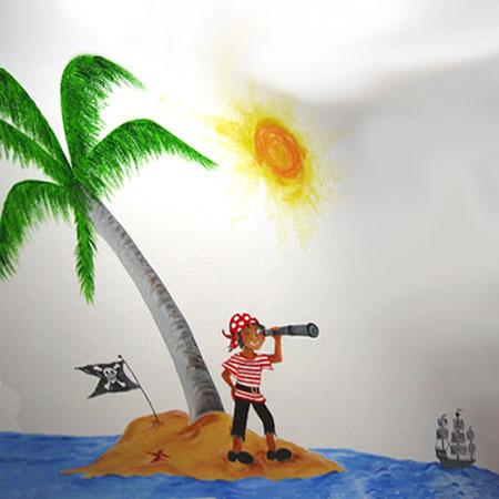 011 Malerei Pirat