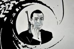007 Malerei James Bond