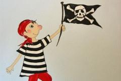 010 Malerei Pirat